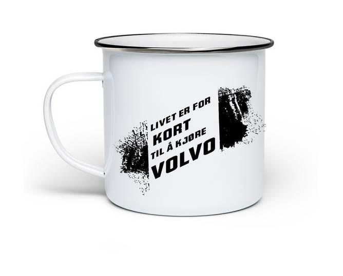 Bilde av Kopp Livet er for kort til å kjøre Volvo