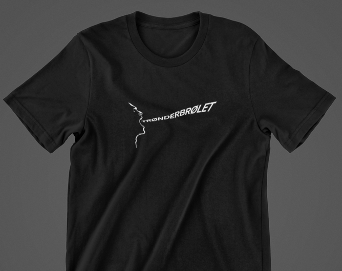 Bilde av TRØNDERBRØLET t-skjorte